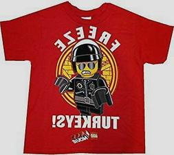 The Lego Movie child boys Size 6-7 Small Tee t-shirt new Fre