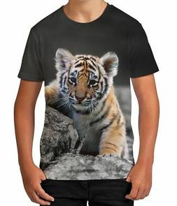 Tiger Cub Animal Wild Cat Novelty Parent Son Boys Kids Child