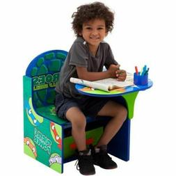 TMNT Boys Kids Desk Chair Table Set Child Play Furniture Toy