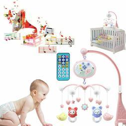 Toddler Baby Mobile Crib Windup Movement Music Box Machine T