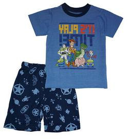 Toy Story 4 Toddler Boys Blue It's Play Time 2pc Short Set S