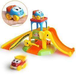 Gizmovine Toddler Car Toys Car Ramps Baby Toys Elephant Park