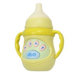 Toddler Electronic Feeding Bottle W/Music Kids Baby Milk Bot