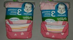 Toddler girl clothes, 2T, Gerber Organic 6 Training Pants,Ce