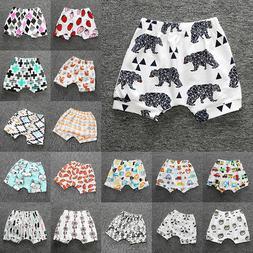 Toddler Infant Baby Boy Girl Kids Harem Pants Shorts Bottoms