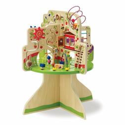 Kids Wooden Tree Activity Center Toddler Nursery Day Care Ch
