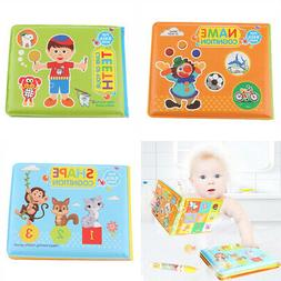 Toddler Waterproof Baby Kid Bathroom Shower Bath Book Early