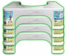 """Toilet Stool for Squatting Step and Go® Potty Stool: 7"""""""