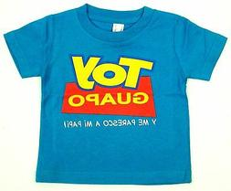TOY GUAPO Baby Infant T-shirt Funny Toy Story Parody Tee 6M,