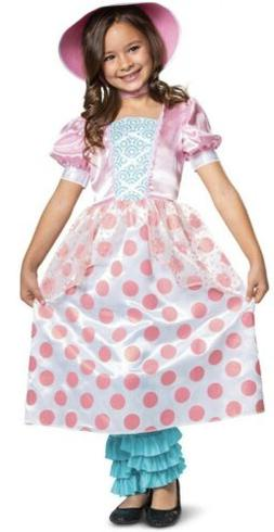 Toy Story 4 BO PEEP Halloween Costume Dress Leg Covers Hat T