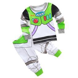 Toy Story Buzz Light Year Boys Toddler Kids Pajamas Pyjamas
