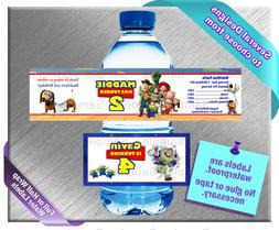 Toy Story Buzz Lightyear ~ Water Bottle Labels ~ Birthday Pa