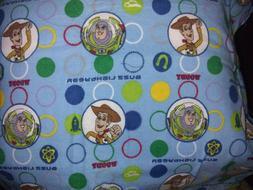 Toy story Woody & Buzz Pillow Case Crib toddler Blanket Flan