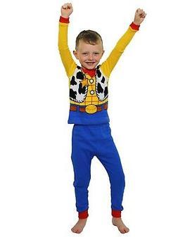 Toy Story Woody Toddler Boys Costume Style Pajamas Set 21TS0