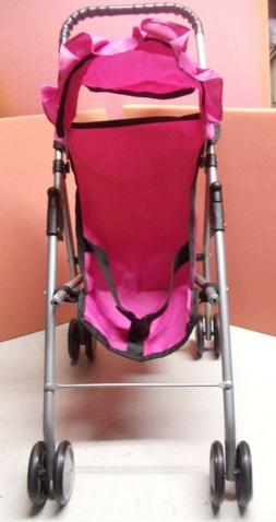 Toy Stroller For Baby Dolls or Pets, Foldable, Easy to Carry