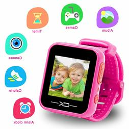 Toys for 3-8 Year Old Girls Pussan Smart Watches for Kids To