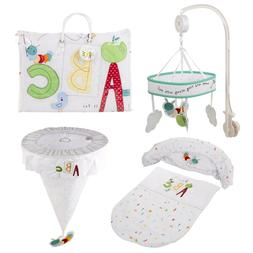Toys R Us Unisex New Baby Nursery Cot Moses Basket Bedding B