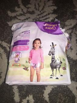 Parents Choice Training Pants For Girls 2T-3T Up To 34lbs 16
