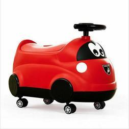 Training Toilet Kids Potty Toy Car Bowl Kids Toddler Safe Se