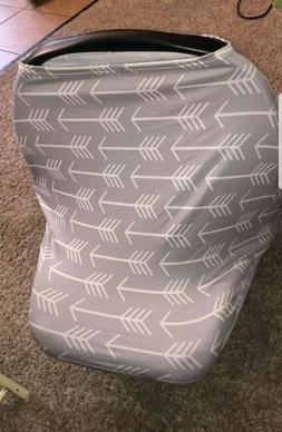 Unisex baby car seat cover