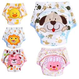 Unisex Baby Training Pants Baby Underwear Reusable Cloth Dia