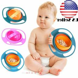 US Baby Bowl Children Tableware gyro Bowl  Dishes plate todd