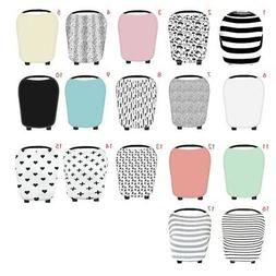 US Baby Car Seat Cover Breasfeeding Multi-Use Canopy Nursing