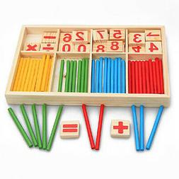 US Child Early Education Mathematical Calculation Stick Rods