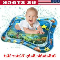 US-Inflatable Baby Water Mat Fun Activity Play Center for Ch