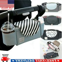 US Pram Pushchair Stroller Baby Cup Bottle Drink Holder Stor