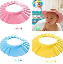 US Safe Shampoo Shower Bath Caps Protect Soft Cap Baby Child