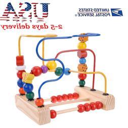 USA First Bead Maze Wood Manipulative Toy Wooden & Handcraft