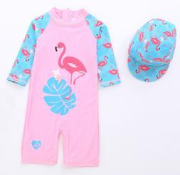 2019 Kids Baby Girl Boys Suit Pink Sets Swimsuit Swimwear Ba