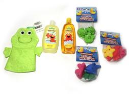 Value Pack Baby Bath Toys Sesame Street Baby Shampoo & Baby