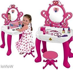 Vanity for Little Girls Lil Set with Mirror Studio Toddler M