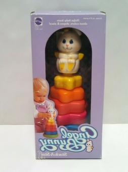 Vintage Mattel Angel Bunny Stack A Star 1984 Hong Kong #7893