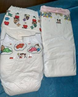 vintage baby disposable baby diapers