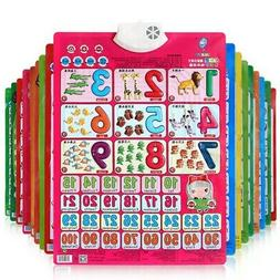 Electronic Interactive Alphabet Wall Chart Educational Toy f