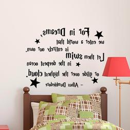 Wall Stickers Harry Potter Dumbledore For In Dreams we vinyl