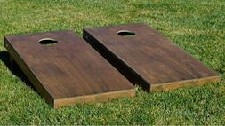 Walnuts Stained Boards With Bags Backyard And Beach Party Co