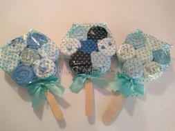 Washcloth Lollipops Diaper Cake boy baby shower gift