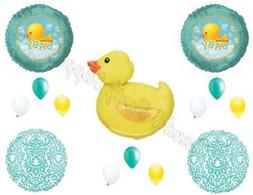 WELCOME BABY RUBBER DUCK Bubbles SHOWER Balloons Decoration