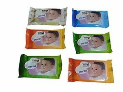 Lot of 12 Packs Travel Size 10 Pack Baby Wipes Fits  Purse D