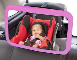 Wide Extra Large Baby Car Seat & Child Safety Parent View Tr