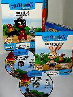 Wild Animal Baby Explorers Bath Time, Hide & Seek 2 DVD Set