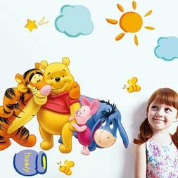 Winnie the Pooh Nursery Room Wall Decal Decor Stickers For K