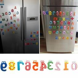 Wood Cute Fridge Magnet Alphabet Animal Number Early Educati