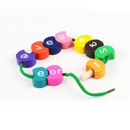Wood Educational Toys Caterpillar Toy Montessori Toy Wooden