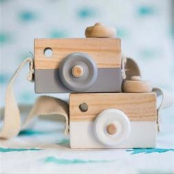 Wooden Camera Toy Toddler Kids Toys Nursery Room Decoration