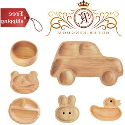 Wooden Plate With Pine Wood And Polyurethane Coating And Sha